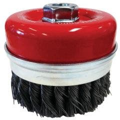 JOSCO 125mm Twistknot Cup Brush 2-Row 162NB3