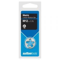 SUTTON M12 x 1.75 1inch OD Button Die M4001200