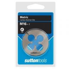 SUTTON M16 x 2.0 2inch OD Button Die M4021600