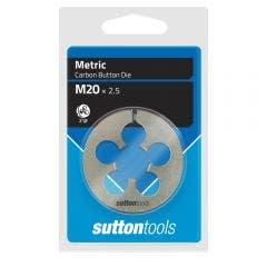 SUTTON M20 x 2.5 2inch OD Button Die M4022000