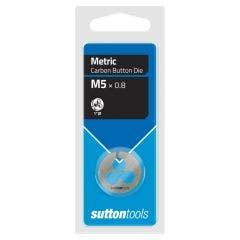 SUTTON M5.0 x 0.8 1inch OD Button Die M4000500