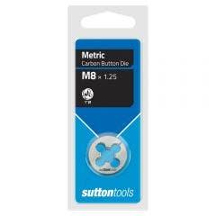SUTTON M8.0 x 1.25 1inch OD Button Die M4000800
