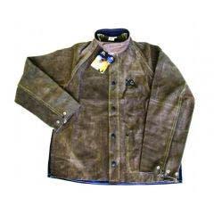 XELARC Heat and Flame Resistant Welding Jacket Leather UMWJF