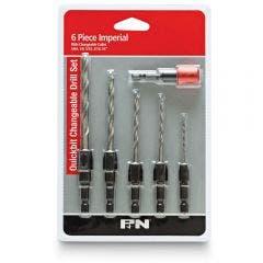 69656-p&n-5-64-1-4inch-1-4-hex-hss-quickchange-drill-bit-set-6pc-with-holder-150bset6i-hero-1_main