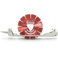 HUSQVARNA 150mm Segmented Soffcut Diamond Blade w.Skid - Red