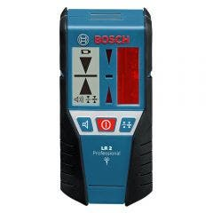 BOSCH Laser Measuring Line Laser Level Detector Red Beam LR2