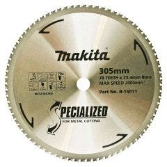 MAKITA 305mm 78T TCT Circular Saw Blade for Metal Cutting - SPECIALIZED