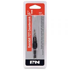 P&N QUICKBITS 9/64inch TCT Drill & Countersink for Wood & Fibre Cement
