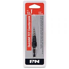 P&N QUICKBITS 5/32inch TCT Drill & Countersink for Wood & Fibre Cement