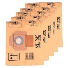 MAKITA Vacuum Filter Bags Suit 446L 5 Pack P70194