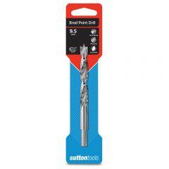 SUTTON 9.5 x 125mm Brad Point Wood Drill Bit