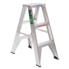 BAILEY 0.9m Double-Sided Trade Step Ladder