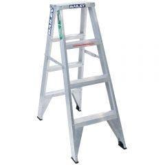 BAILEY 1.2m 150kg Aluminium Double Sided Step Ladder