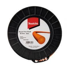 MAKITA 2.4mm x 262m Nylon Round Trim Plus Line Orange 369224604