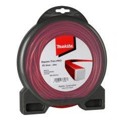 MAKITA 3mm x 44m Nylon Square Trim Plus Line Red 369224614