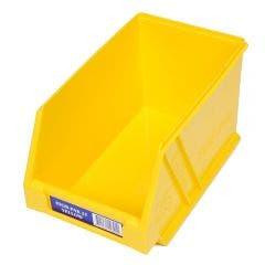FISCHER 133 x 220 x 125mm STOR-PAK 25 Yellow Storage Bin 1H062Y