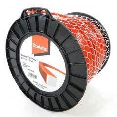 MAKITA 3mm x 219m Nylon Square Trim Pro Line Red 369224616