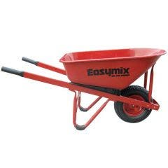 EASYMIX 99L Contractors Steel Wheelbarrow W300S-HSRWRS