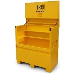 1-11 1525x765mm Yellow Fully Welded Site Storage Box SITESUPABOX