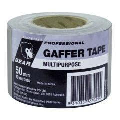 BEAR 50mmx10m Silver Multi-Purpose Gaffer Tape 66623336623