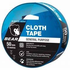 BEAR 50mm x 15m Tape Cloth - Blue 66623336611