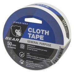 BEAR 50mmx25m White Cloth Tape 66623336614