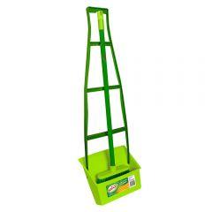 SABCO Ergo Plastic Lobby Handle Dustpan Set w. Brush SAB2125