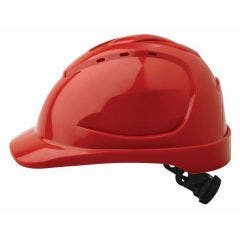 PROCHOICE V9 Vented Hard Hat - Red
