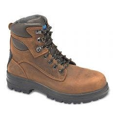 BLUNDSTONE 143 Black Water Resistant Steel Cap Safety Boots 1430
