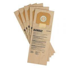DEWALT Paper Vacuum Dust Bag 5 Packs DWV9401-XJ