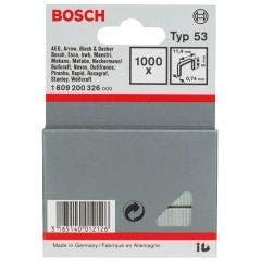 BOSCH 6mm Staples  - 1000 Pieces BOX Suits PTK14E 1609200326