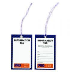 PROCHOICE Safety Tag Information 100Pk
