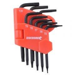KINCROME Mini Tamperproof Torx Set - 8 Piece K5087