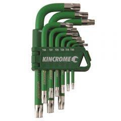 KINCROME Torx Key Set Short Series - 9 Piece K5144