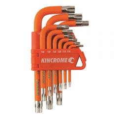 KINCROME Tamperproof Torx Key Set Short Series - 9 Piece K5145