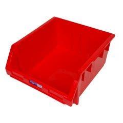 FISCHER Stor-Pak Storage Bin 240 Red 1H065R