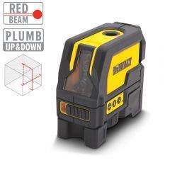 DEWALT Cross Line Laser Level with Plumb Red Beam DW0822-XJ