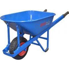 EASYMIX Blue W/Barrow Hd Steel Tray (Pneumatic) W900S-HSBNGS