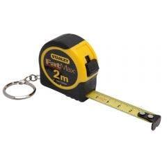 STANLEY 2.0M x 12Mm Keyring Tape Measure FMHT33856M