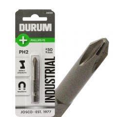 DURUM PH2 x 50mm Phillips Power Screwdriver Bit