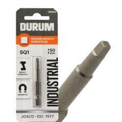 DURUM R1 x 50mm Robertson/Square Power Screwdriver Bit
