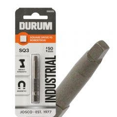 DURUM R3 x 50mm Robertson/Square Power Screwdriver Bit