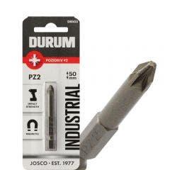 DURUM PZ2 x 50mm Pozidrive Power Screwdriver Bit