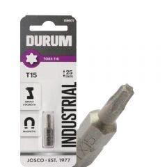 DURUM T15 x 25mm Torx Insert Screwdriver Bit