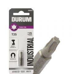 DURUM T25 x 25mm Torx Insert Screwdriver Bit