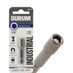 DURUM 1/4inch x 45mm Magnetic Power Nutsetter
