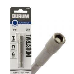 DURUM 1/4inch x 65mm Magnetic Power Nutsetter
