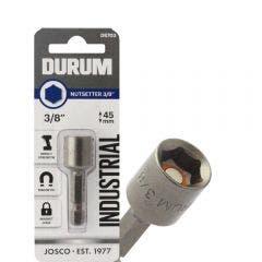 DURUM 3/8inch x 45mm Magnetic Power Nutsetter