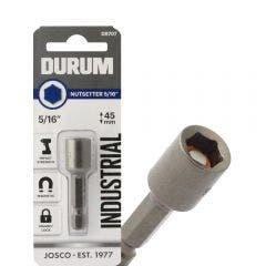 DURUM 5/16inch x 45mm Magnetic Power Nutsetter