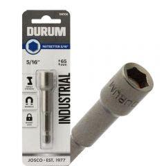 DURUM 5/16inch x 65mm Magnetic Power Nutsetter